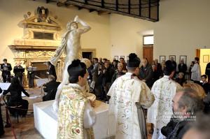 Processione di ingresso alla Cappella di Sant'Aniceto