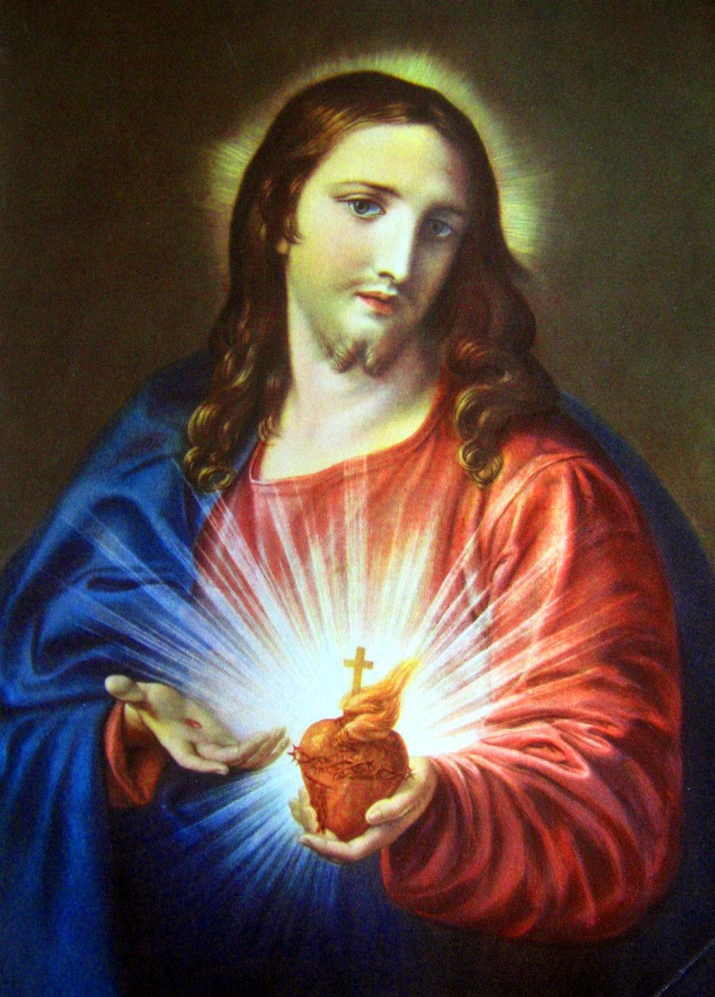 Popolare Devozione al Sacro Cuore di Gesù: preghiere HD69